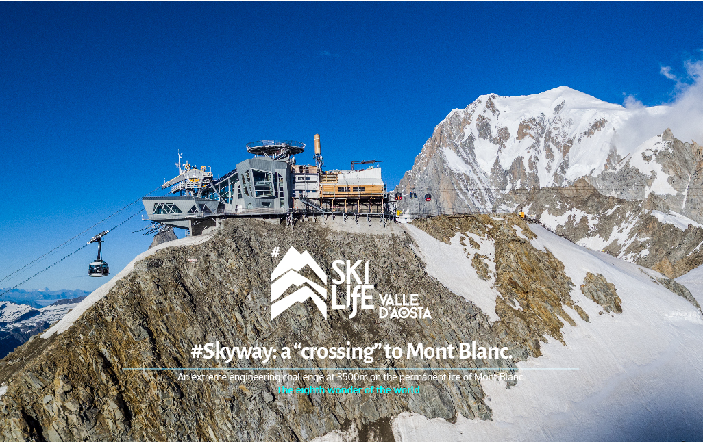Skyway Mont Blanc The Eighth Wonder Of The World Skilife
