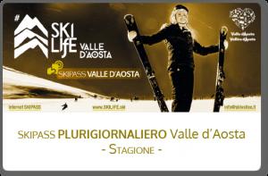 Skipass plurigiornaliero Valle d'Aosta