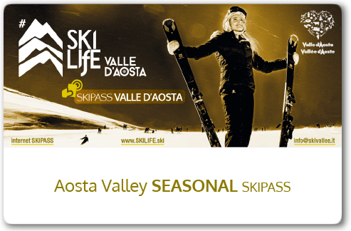 Aosta Valley Seasonal skipass